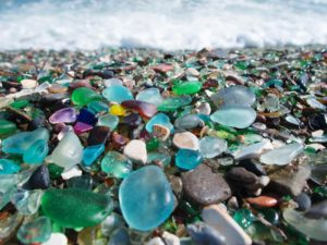 Hunting For Sea Glass in New England