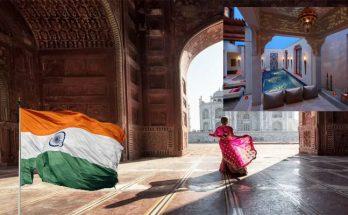 Aesthetic Taj Mahal and Mughal Accommodation